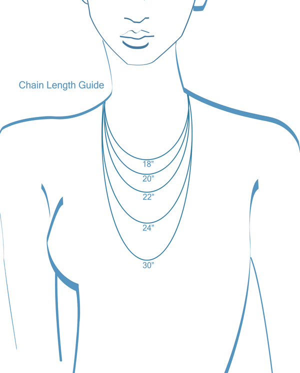 Cremation Jewelry Chain Length Guide
