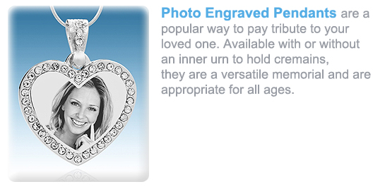 Photo Engraved Pendants